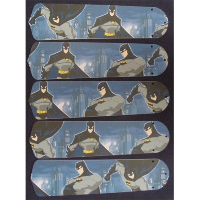Ceiling Fan Designers 52SET-KIDS-BBMS Batman Superhero 52 inch Ceiling Fan Blades Only