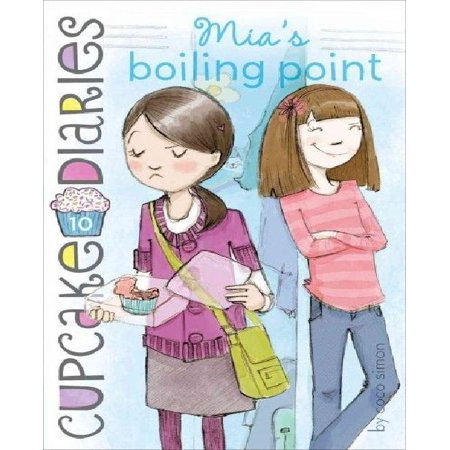 Mia's Boiling Point (Book #10 of Cupcake Diaries) By Coco Simon - image 1 of 1