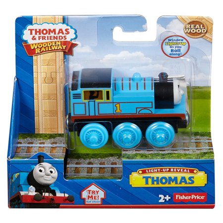 Fisher-Price Thomas & Friends Wooden Railway Thomas Light-Up Reveal