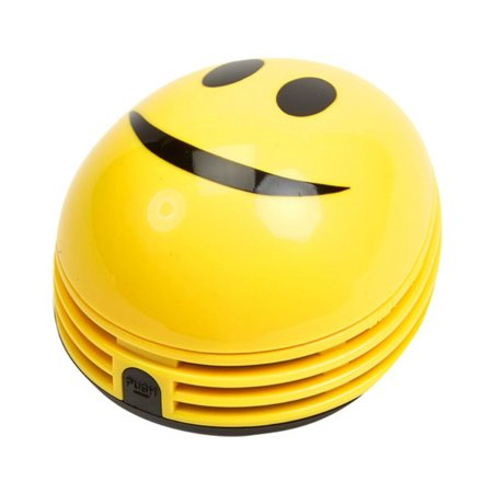 As Seen On Tv Vacuum - Crumby™ CRB-SML Smiley Emoji Mini Vacuum with 12000 RPM Motor, As Seen On TV