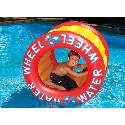 Inflatable Water Wheel Pool Toy by INTERNATIONAL LEISURE PRODUCTS