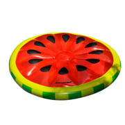 Swimline Inflatable Watermelon Slice Swimming Pool Lake Ocean Island Float Raft