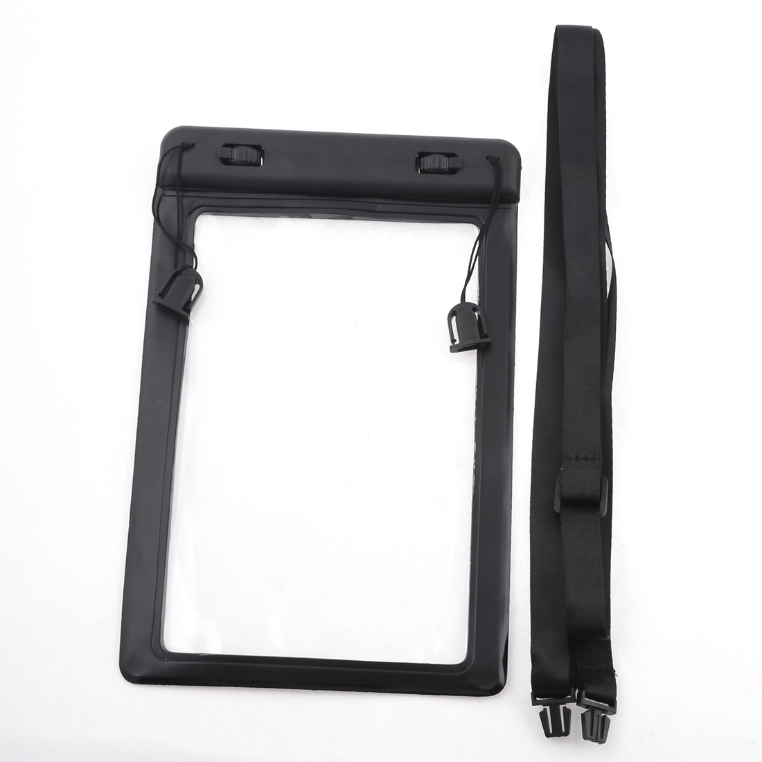 Camping Tablet Waterproof Bag Pouch Case Black for Apple iPad