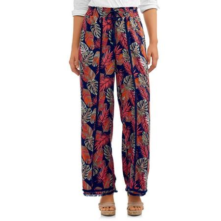 Women's Fray Edge Long Pant