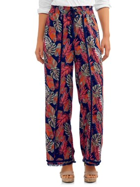 5a3fa00f606509 Product Image Women's Fray Edge Long Pant