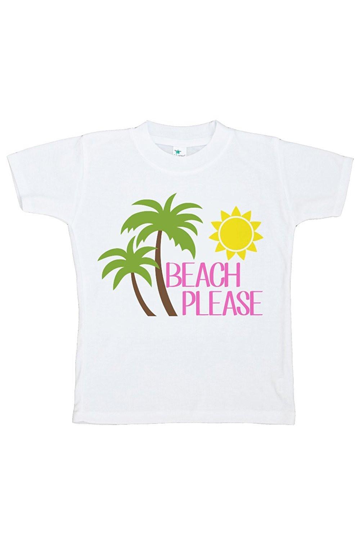 Baby's Beach Please Summer T-shirt - XL (18-20) T-shirt