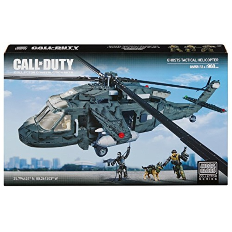 Mega Bloks Call of Duty Ghosts Tactical Helicopter by