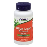 NOW Foods Olive Leaf Extract 60 Veg Caps