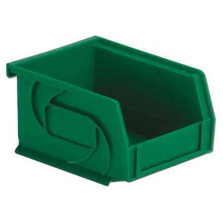 - Lewisbins 15 lb Capacity, Hang and Stack Bin, Green PB54-3 Green