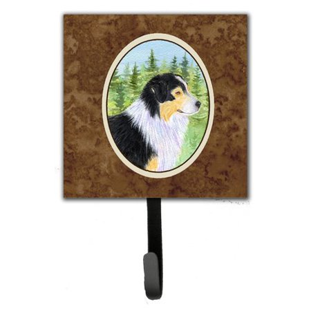Caroline's Treasures Australian Shepherd Leash Holder and Wall Hook