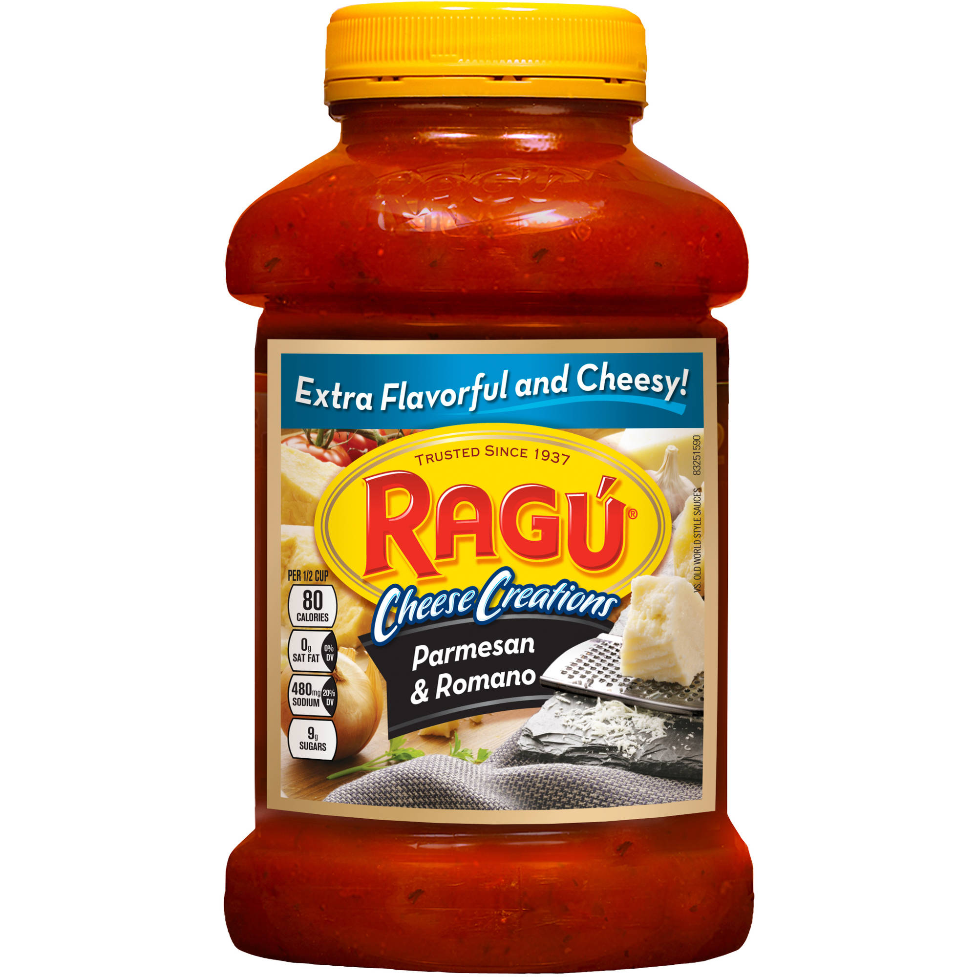 Ragu Robusto Parmesan And Romano Pasta Sauce, 45 oz