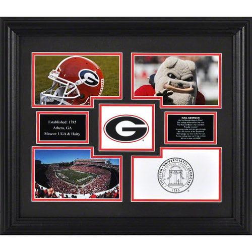 NCAA - Georgia Bulldogs Framed 4-Photograph Collage
