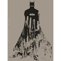 Officially Licensed, DC Comics Batman Behind Gotham Sticker
