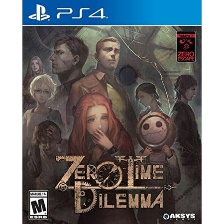 Aksys Games Zero Escape: Zero Time Dilemma (PS4)