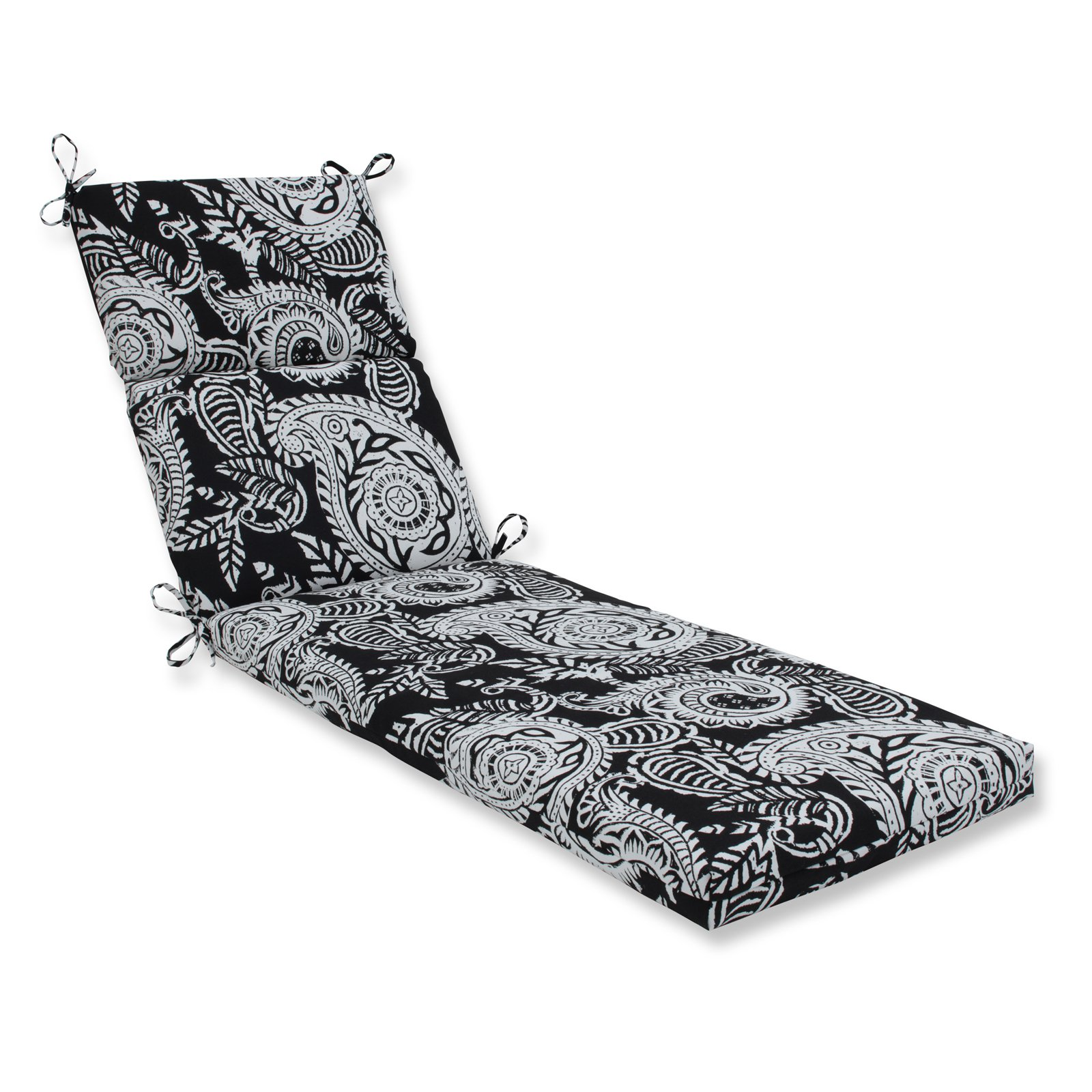 Pillow Perfect Outdoor/Indoor Addie Night Chaise Lounge Cushion