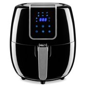 Best Choice Products 5.5qt 7-in-1 Digital Family Sized Air Fryer Kitchen Appliance w/ LCD Screen and Non-Stick Fryer Basket, Black