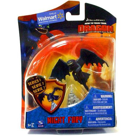 Toothless Nightfury (How to Train Your Dragon Series 2 Night Fury Action Figure)