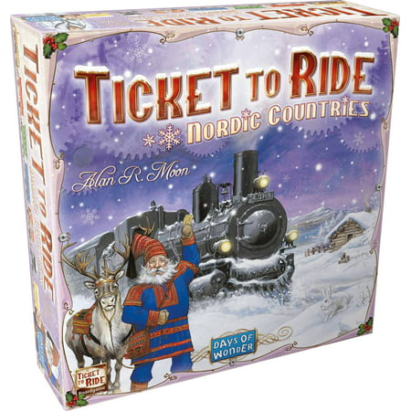 Ticket to Ride Nordic Countries Strategy Board (Ticket To Ride Best Version)