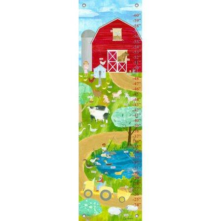 - Oopsy Daisy - Farm Friends Growth Chart 12x42, Maria Carluccio