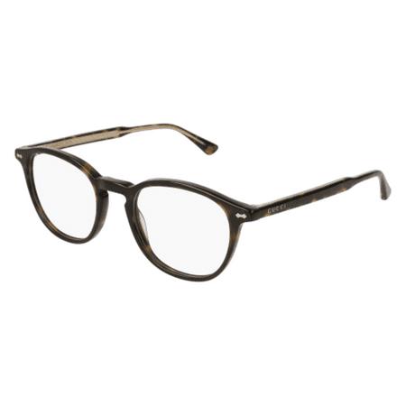 Eyeglasses Gucci GG 0187 O- 006 HAVANA / (Gucci Glasses Gg F)