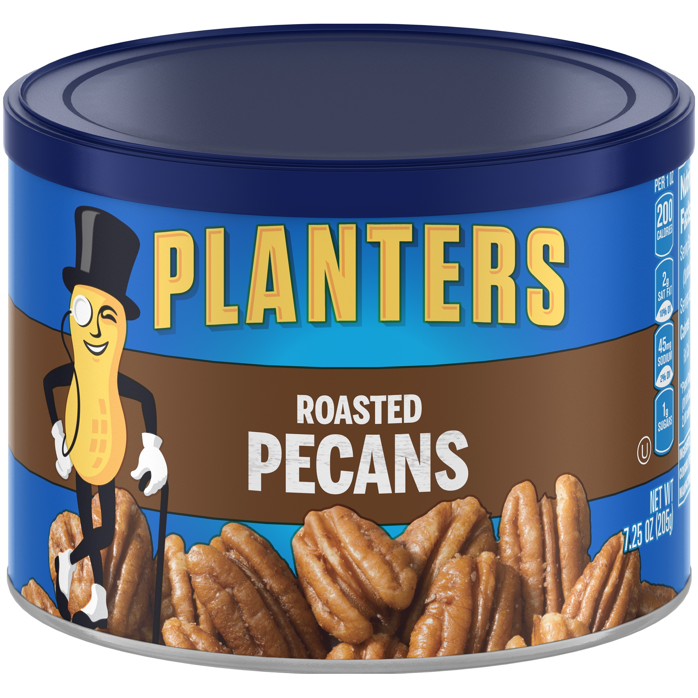 Planters Roasted Pecans 7.25 oz. Canister
