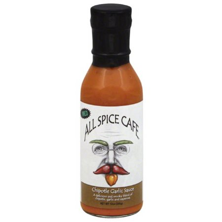 Image of All Spice Cafe, All Spice Cafe Chipotle Garlic Sauce Medium, 12 OZ (Pack of 6)