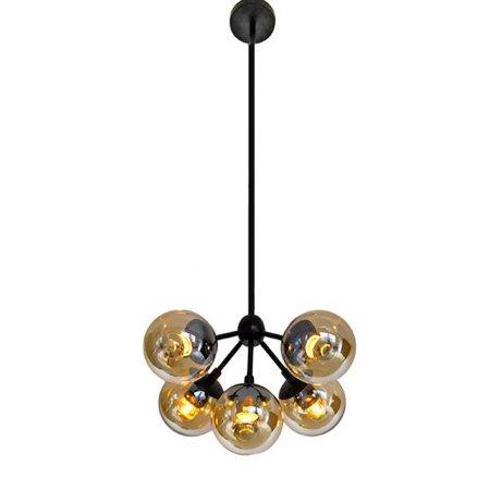 george oliver wildwood bulb glass 5 light chandelier walmart com