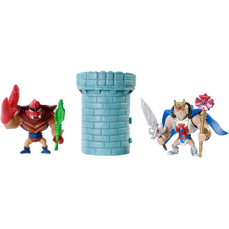 Masters of the Universe Mini King He-Man & Clawful Figures - MOTU
