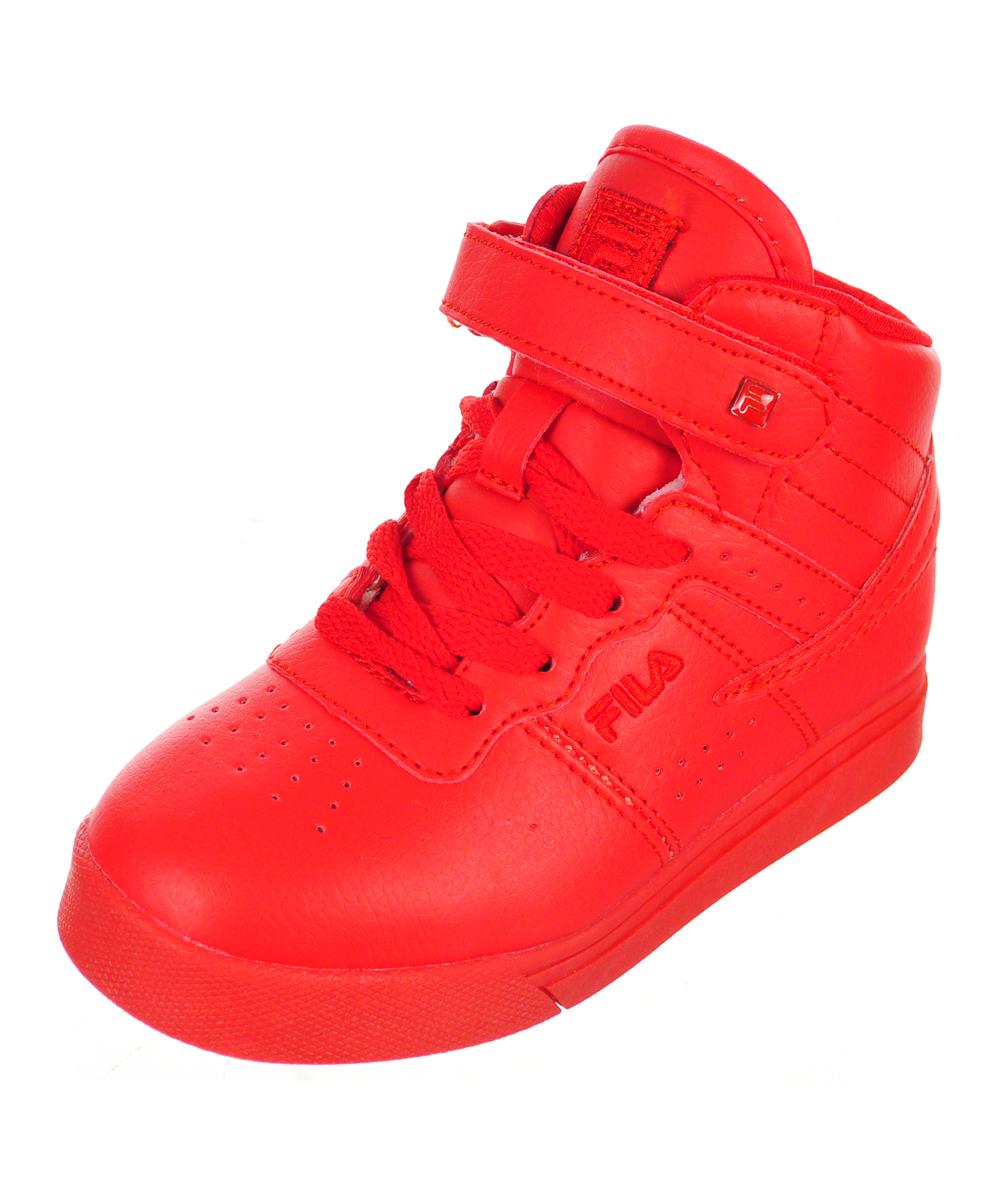 Fila Boys' Vulc 13 Hi-Top Sneakers (Sizes 6 10) by Fila