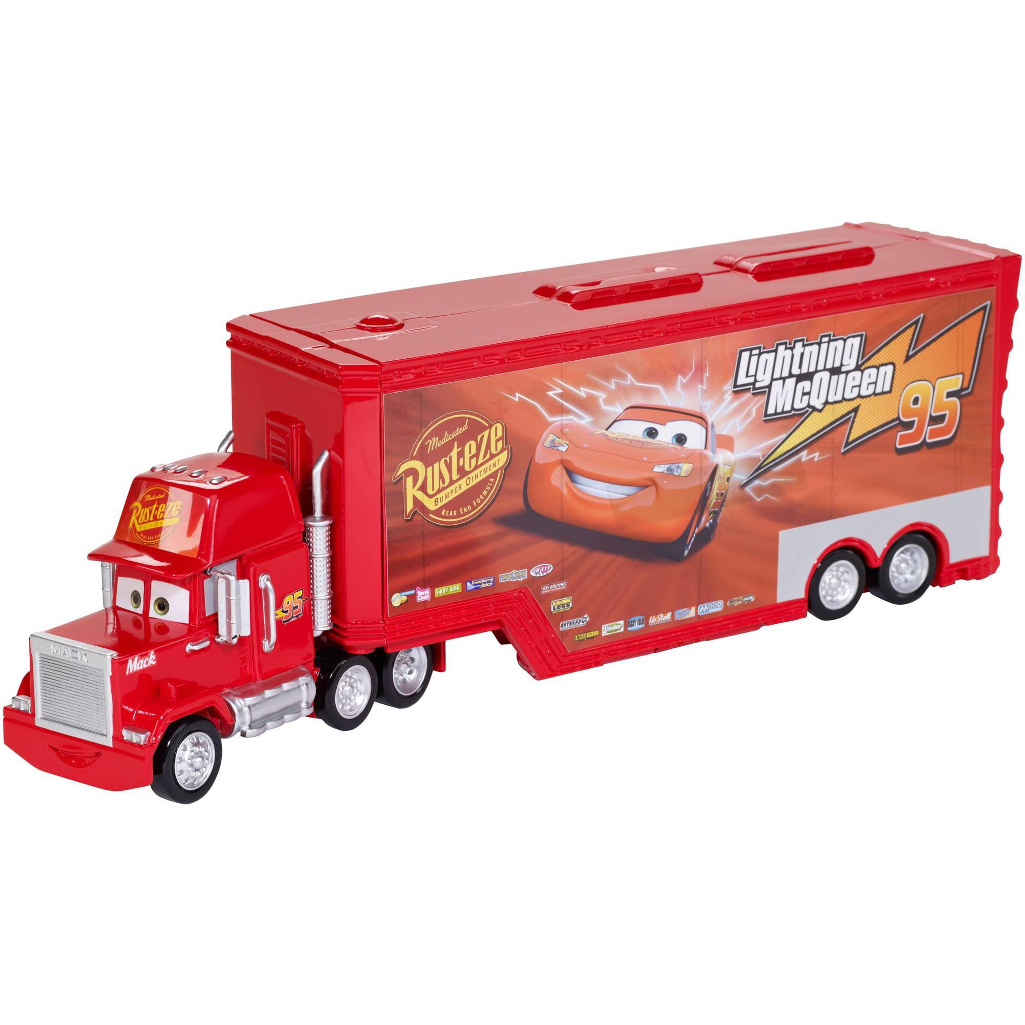 Disney Pixar Cars Mack Truck Playset