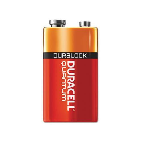Quantum Alkaline Batteries with Duralock Power Preserve Technology DURQU1604BKD