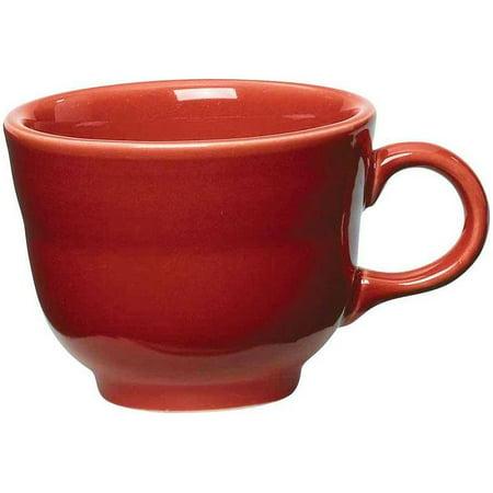 ba5a8f7064f Fiesta® 7.75oz Coffee Cup/Teacup - Scarlet - Walmart.com