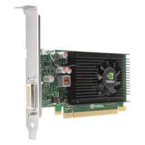 HP Quadro NVS 310 Graphic Card - 1 GB DDR3 SDRAM - PCI Express 2.0 x16 - Low-profile - DirectX 11.0, OpenGL 4.2 - 2 x DisplayPort - PC - 2 x Monitors Supported