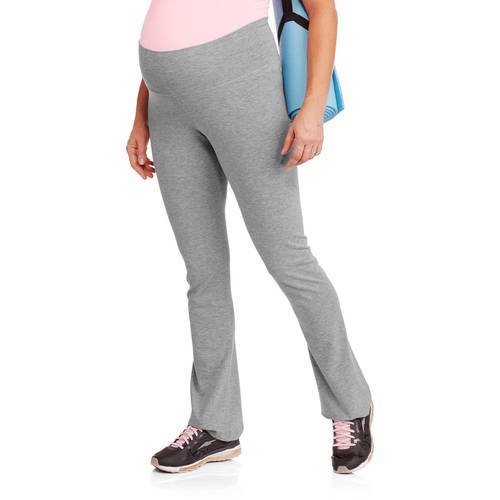 Planet Motherhood Maternity Fold Over Waist Yoga Pants Walmart Com Walmart Com