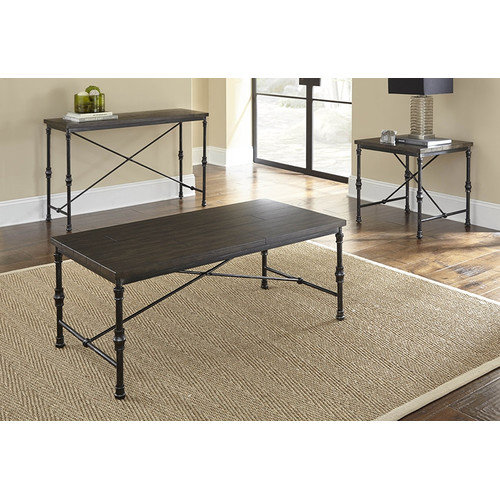Steve Silver Furniture Lillian Coffee Table Set