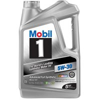5-Quarts Mobil 1 Full Synthetic Motor Oil (Various Grades)