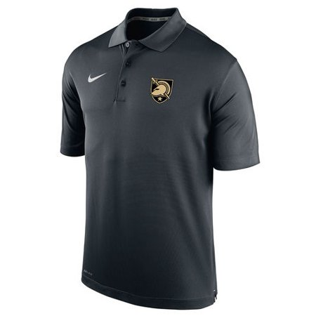 Army Black Knights Nike Varsity Dri-FIT Polo - Black - Nike Army Black Knights