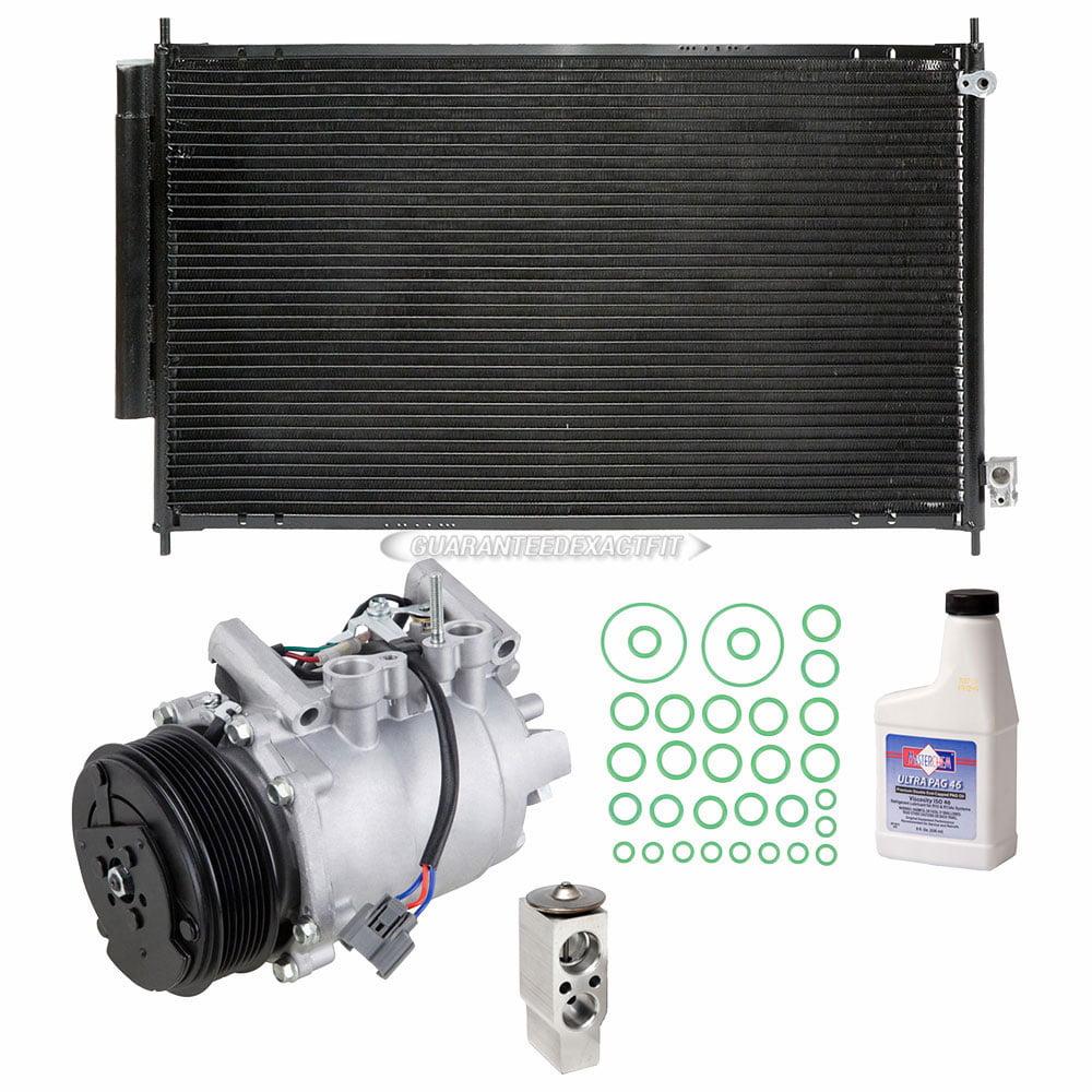 For Acura TSX 2004-2008 AC Compressor W/ A/C Condenser