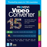 Movavi Video Converter 15 Personal Edition (Email Delivery)