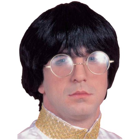 60s Musician Wig Adult Halloween Costume Accessory for $<!---->