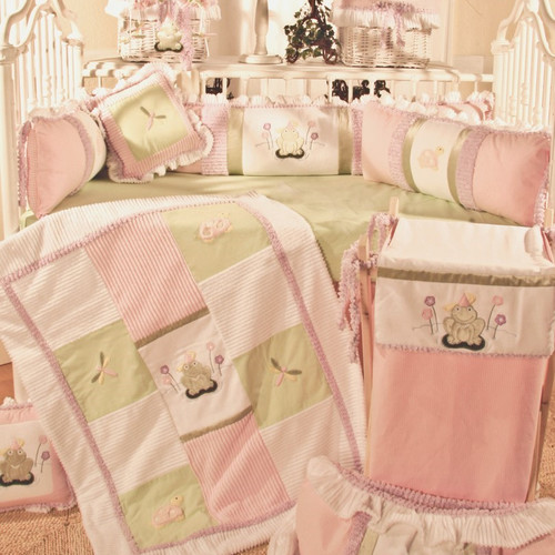 Brandee Danielle Babette 4 Piece Crib Bedding Set