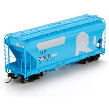 Athearn HO Scale ACF 2970 Covered Hopper Union Pacific/UP/Ex-Rock Island #219679