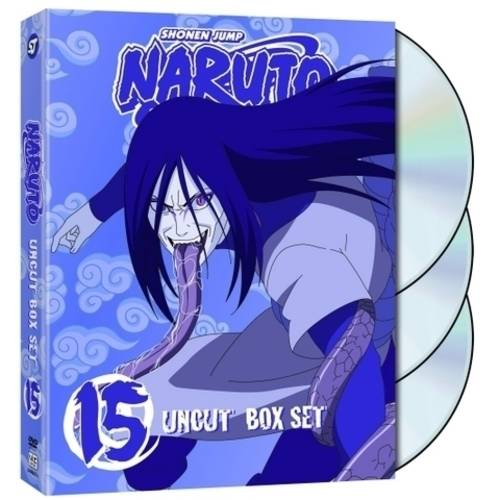 Naruto: Uncut Box Set 15: Special Edition (With Trading Cards   Collectible Figure) (Full Frame)