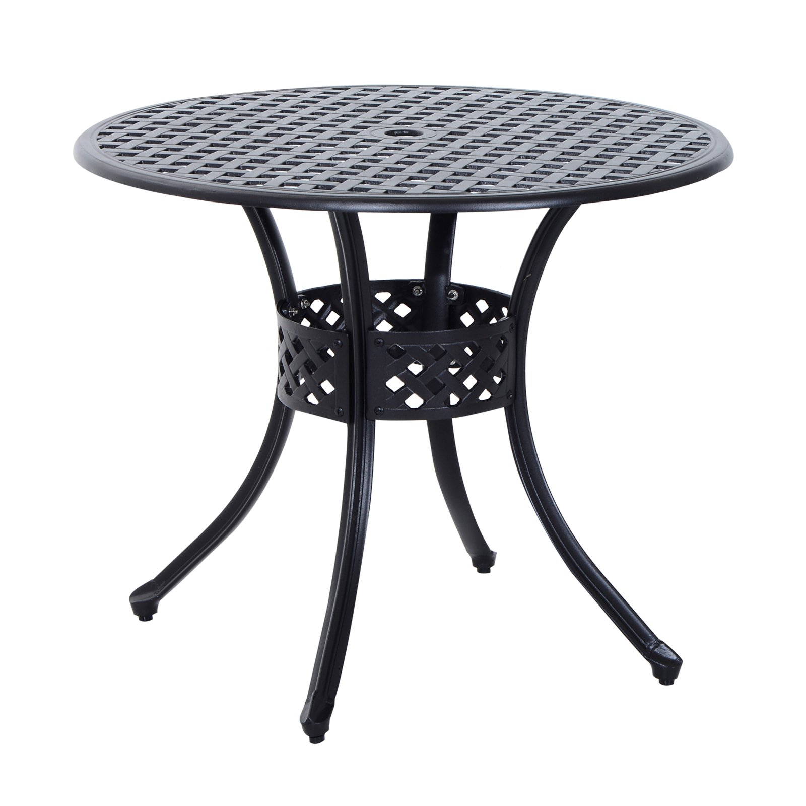 Outsunny Cast Aluminum Patio Dining Table