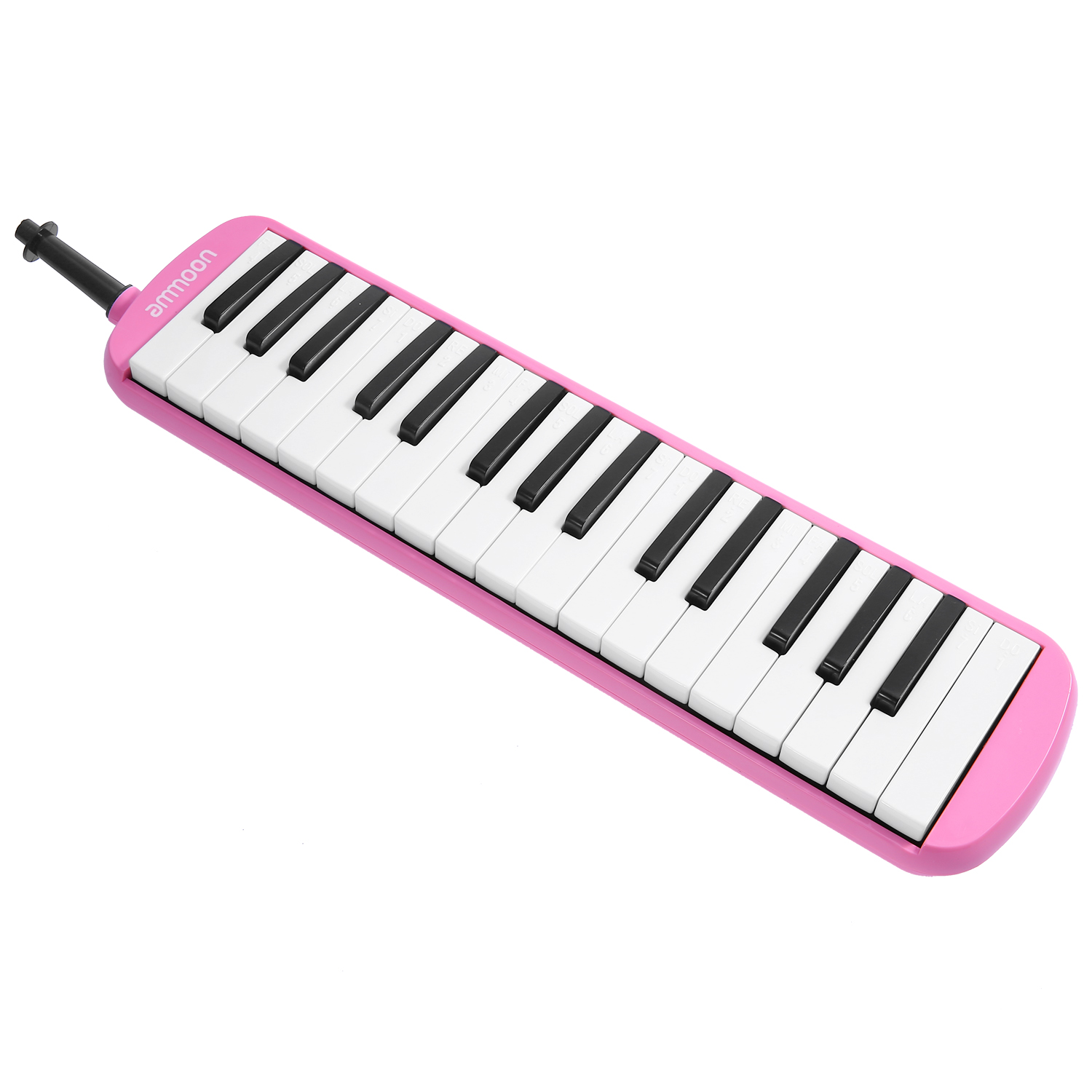 ammoon 32 Keys Melodica Pianica Piano Style Keyboard Harmonica Mouth Organ with Mouthpiece Cleaning Cloth Carry Case for Beginners Kids Musical Gift