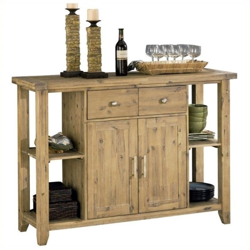 Bowery Hill Sideboard in Light Brown by