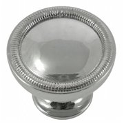 Strategic Brands 17014 1.25 in. Polished Nickel Vanilla Border Knob