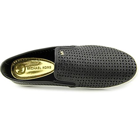 2a673e49 MICHAEL Michael Kors - MICHAEL Michael Kors Women's Olivia Perforated Slip-On  Sneakers, Black, Size 8.0 - Walmart.com