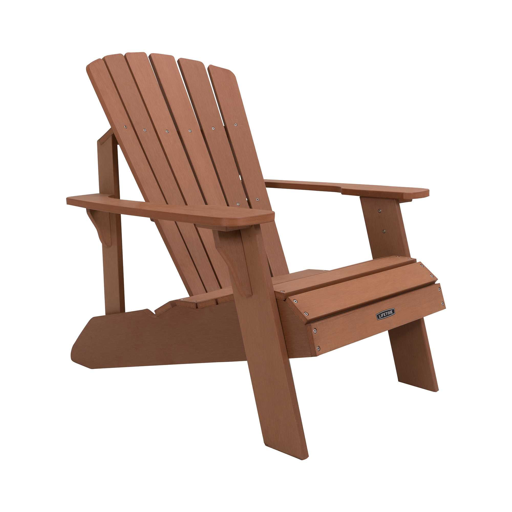 Lifetime Adirondack Chair, Brown, 60064 - Walmart.com