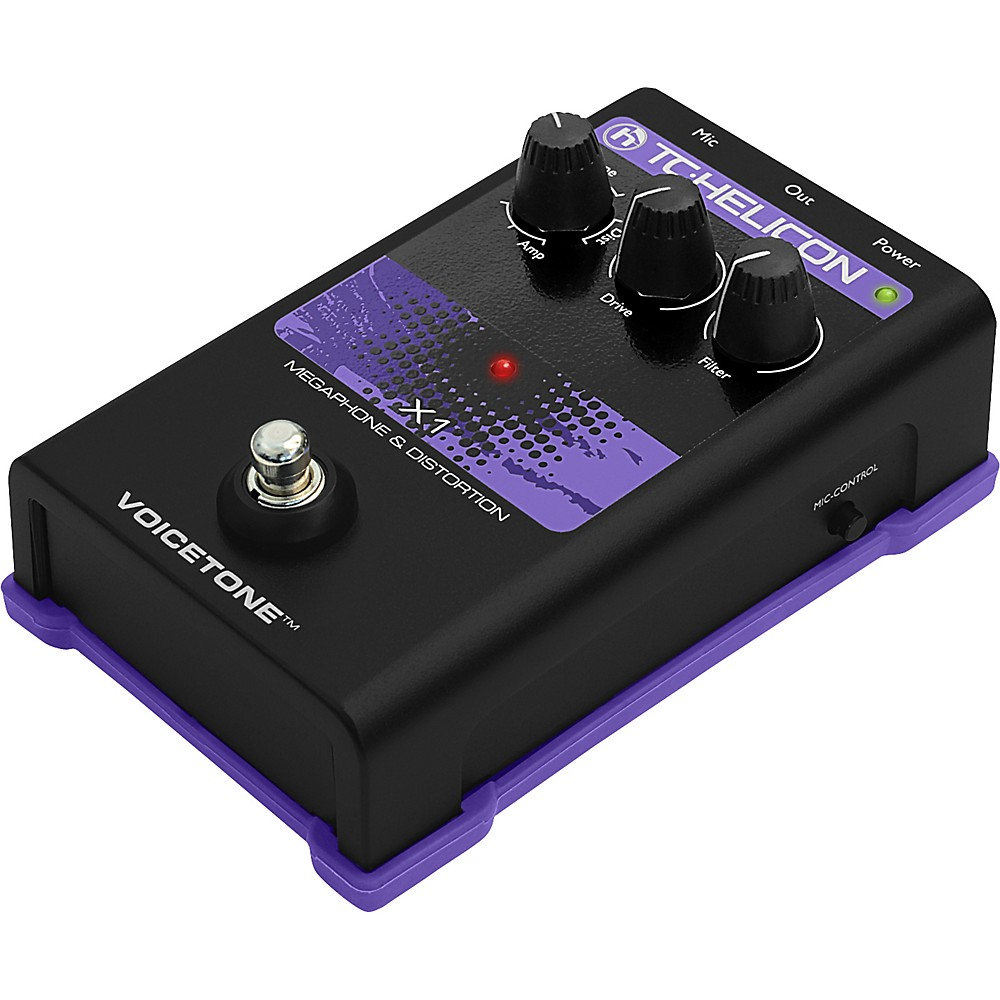 TC Helicon VoiceTone Single X1 Megaphone & Distortion